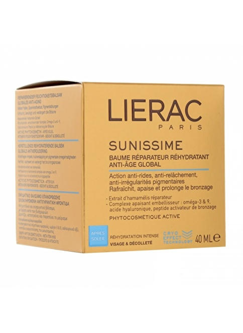 Lierac Sunissime Rehydrating Repair Balm  40 Ml Renksiz